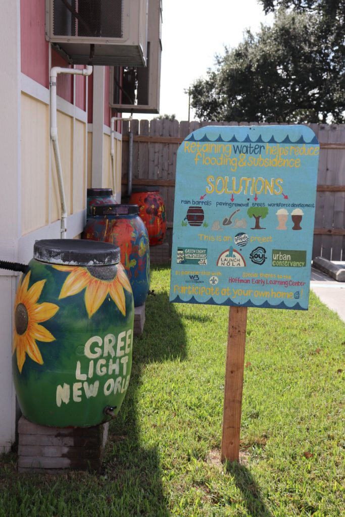 A community garden and sustainability project in New Orleans, LA.