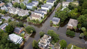 Image of flooded areas in Charleston, SC