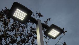 LEDs improve energe efficiency in Fayetteville, Arkansas