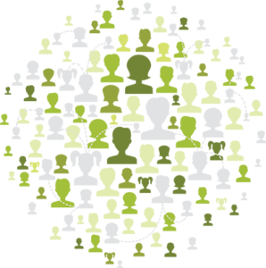 People network graphic